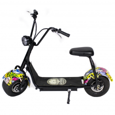 CityCoco MINI 1000W/48V/12aH/Lithium Hip-Hop Gran-Scooter