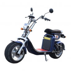 CityCoco Furious Matriculable 4000W / 40AH Blue Gran-Scooter