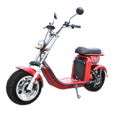 CityCoco Furious Matriculable 4000W / 40AH Red Gran-Scooter