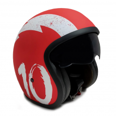 Casque de moto Red Jet Sunra Taille M