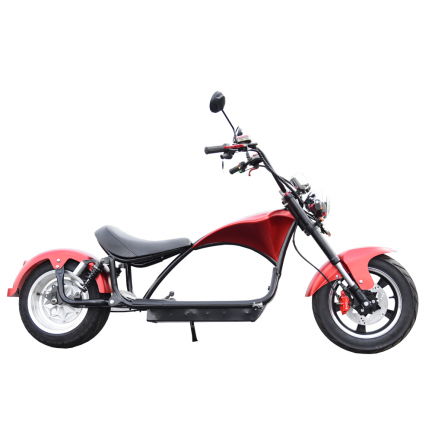 CityCoco E-Chopper Matriculable 2000W / 24AH Rouge
