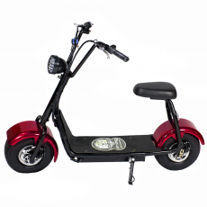 CityCoco MINI 1000W/48V/12aH/Lithium rouge Gran-Scooter