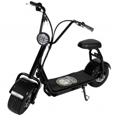 CityCoco MINI 1000W/48V/16aH/Litio Negro Gran-Scooter