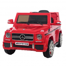 Mercedes Benz G65 Electric Child Car (Licence officielle) Rouge