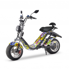 Scooter électrique matriculable E-Thor 2000W / 20AH Hip Hop