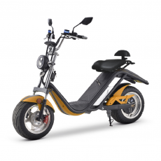 Scooter électrique E-Thor matriculable 2000W / 20AH Orange