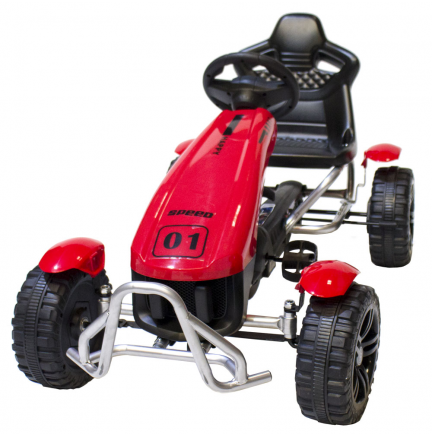 Pédales Kart Supreme Red Edition